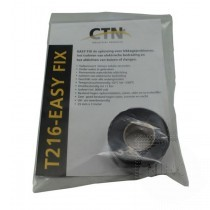 T216 Easy Fix Vulkaniserende Tape Zwart 25mm x 3 mtr